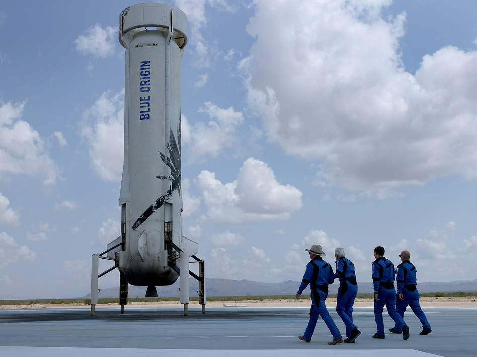Space companies like Blue Origin are grabbing headlines with the promise of a new era of space tourism, mostly recently with the plan to send William Shatner to the edge of space. But unless you're lucky, space is still out of reach for most of the public.