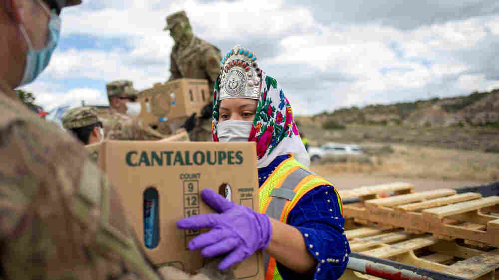 As Miss Navajo Nation, she helped her community through the pandemic