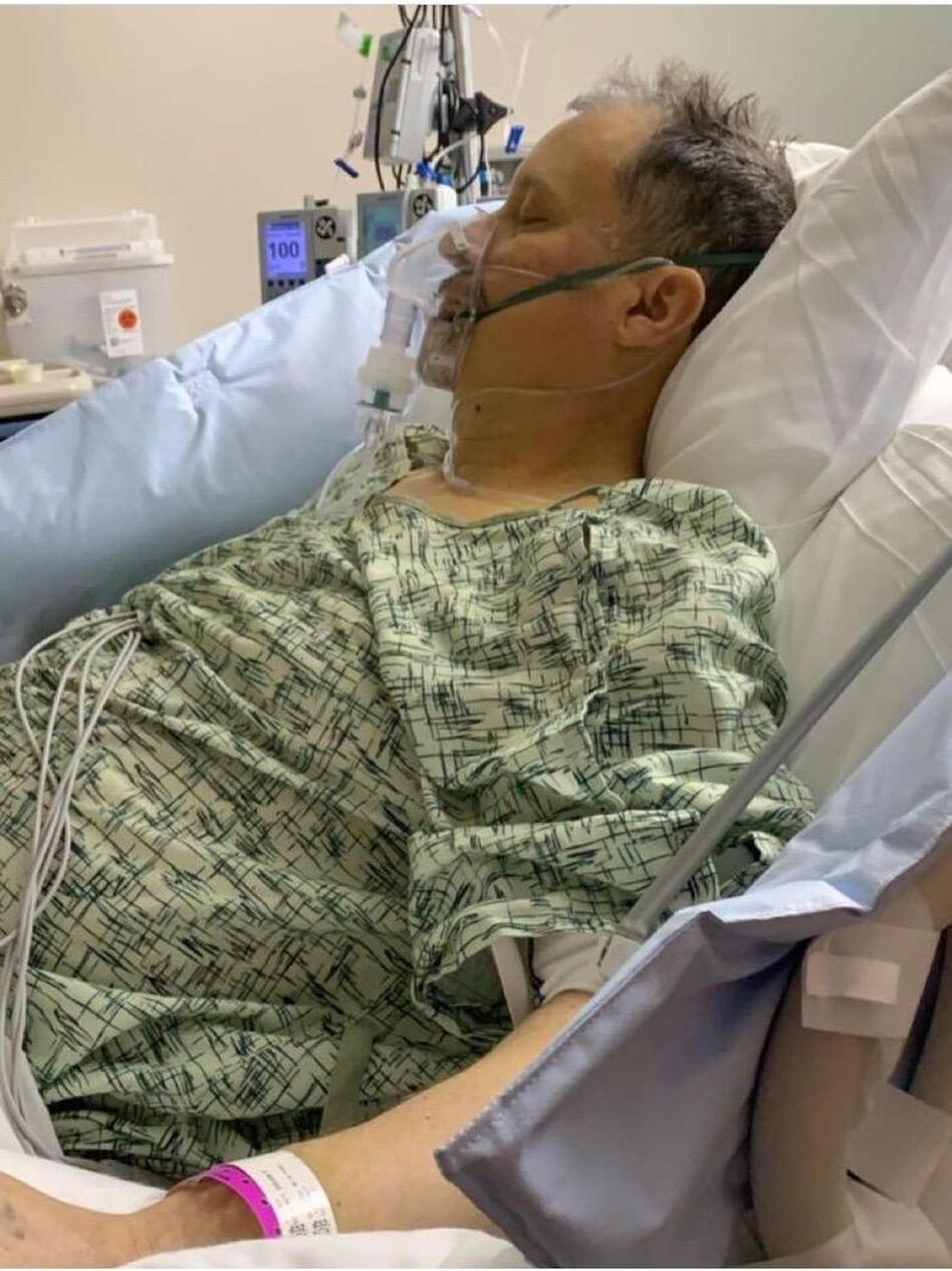 Brian Gorzney developed severe alcoholic hepatitis in February 2020. His liver was inflamed after years of alcohol abuse. His only chance of survival was a liver transplant.