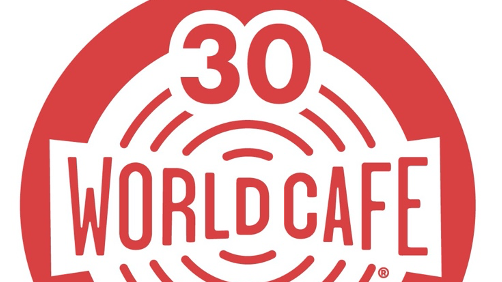 """30th anniversary of World Cafe will be celebrated with """"30 years over 30 weeks""""."""