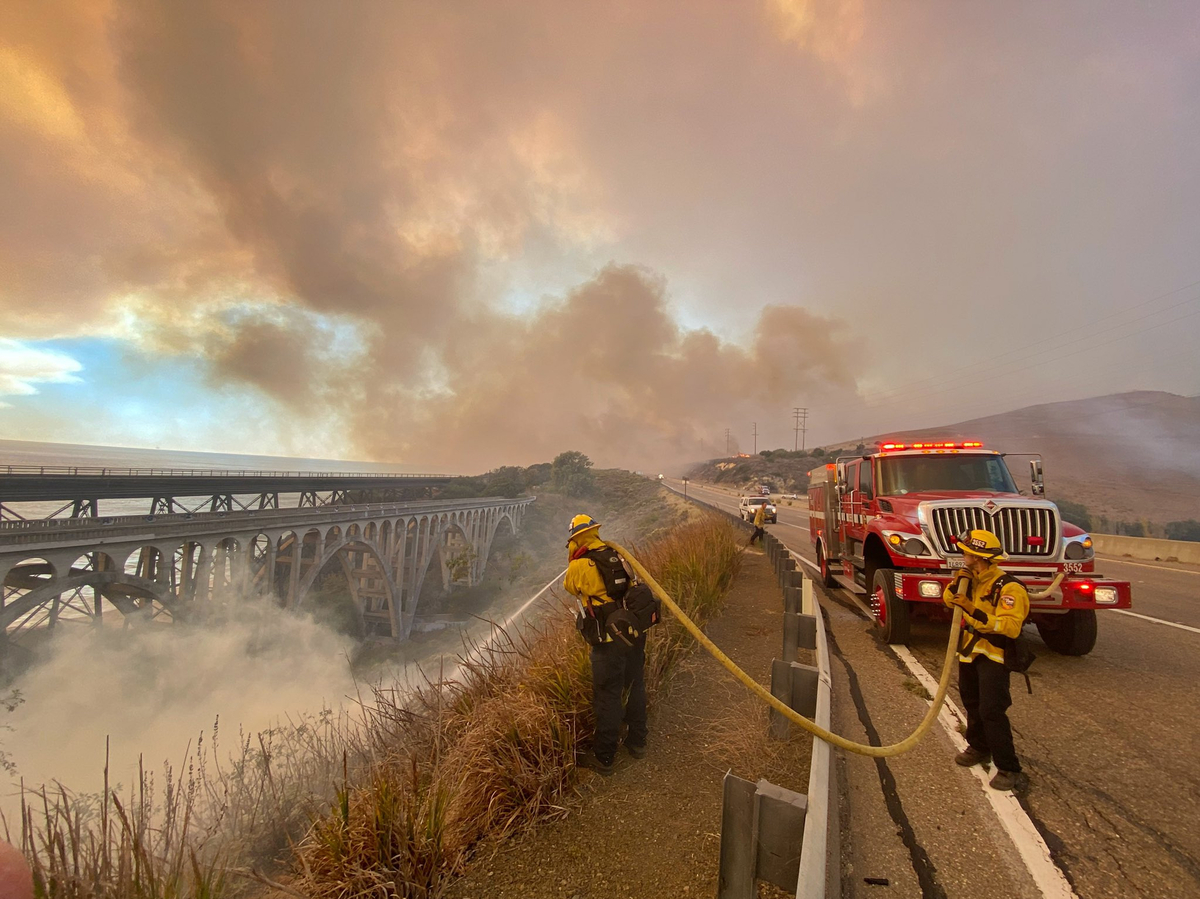 """Alisal fire approaches Reagan's """"Western White House"""" in California: NPR"""