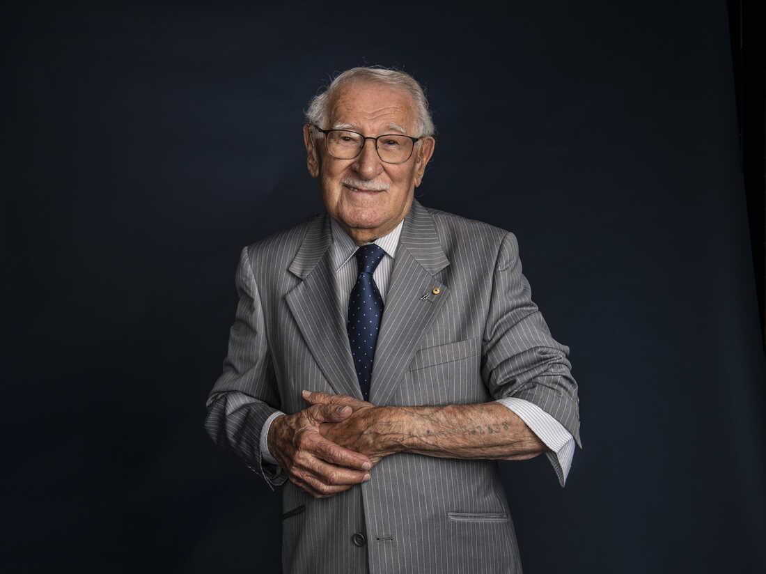 Eddie Jaku, Holocaust survivor and 'happiest man' on Earth,' dies at 101 : NPR
