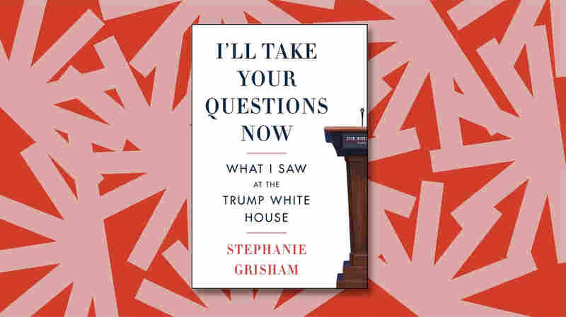 Stephanie Grisham is — yes, really — taking our questions now
