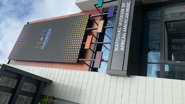 The National Museum of African American Music, in Nashville.