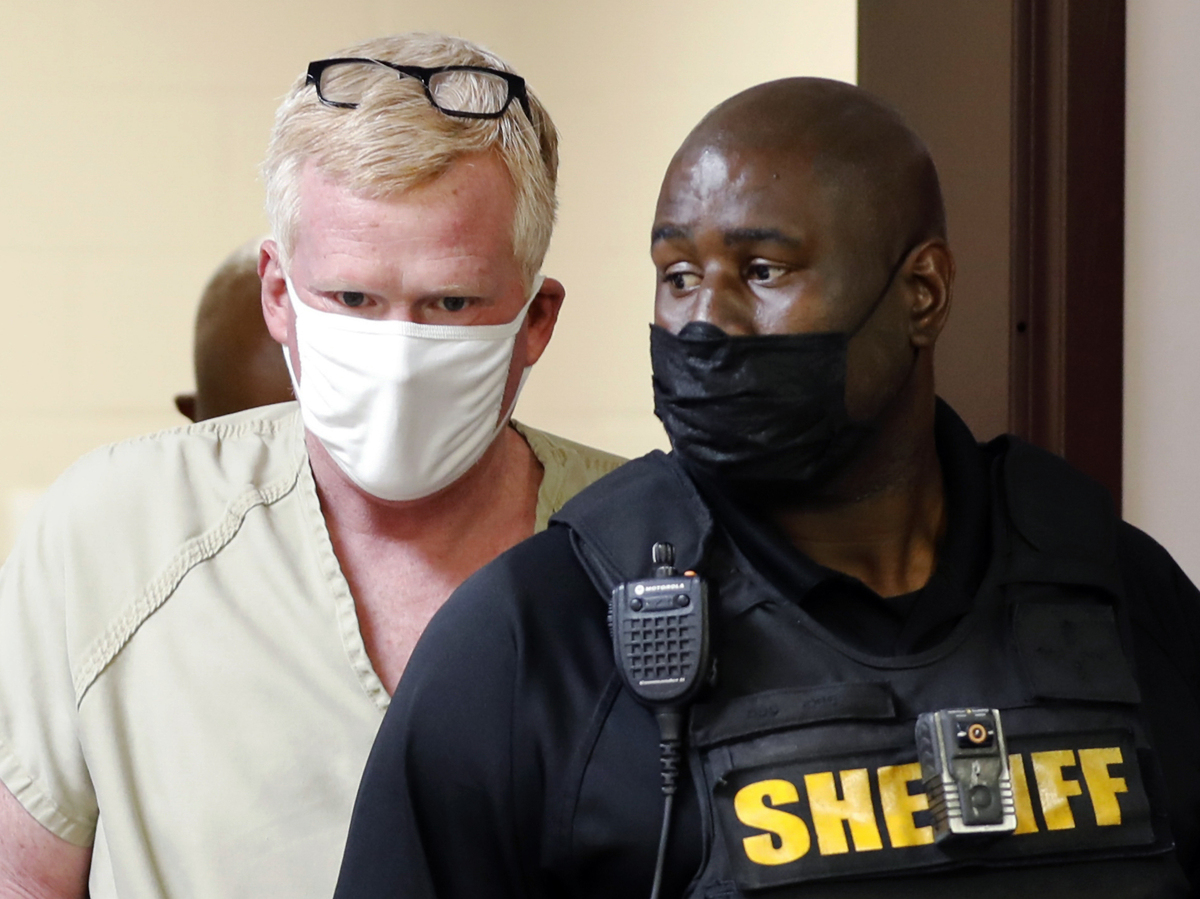 South Carolina lawyer Alex Murdaugh arrested on new charges: NPR