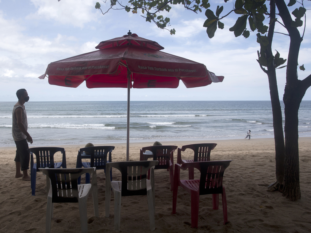 Bali reopens to foreign travelers as COVID-19 outbreak subsides: NPR