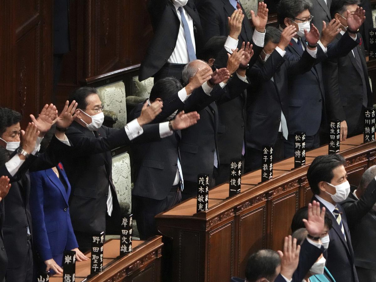 Japanese Prime Minister dissolves lower house for national elections on October 31 (NPR)