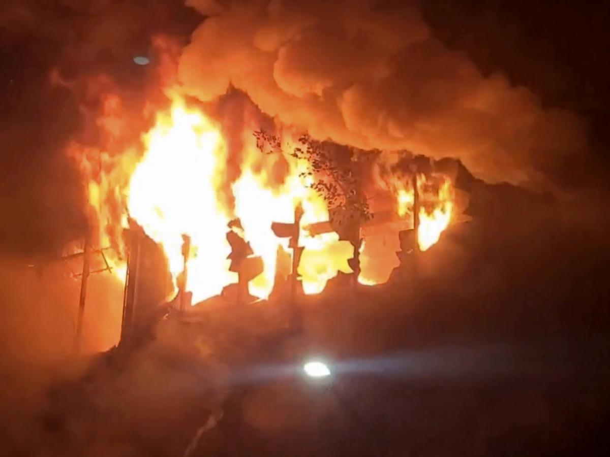 Building fire in southern Taiwan kills 46, injures dozens: NPR