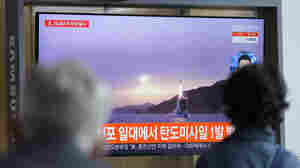North Korea tests a possible submarine missile amid tensions with the U.S.