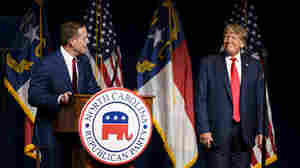 Trump shapes North Carolina's Republican Senate primary with an early endorsement