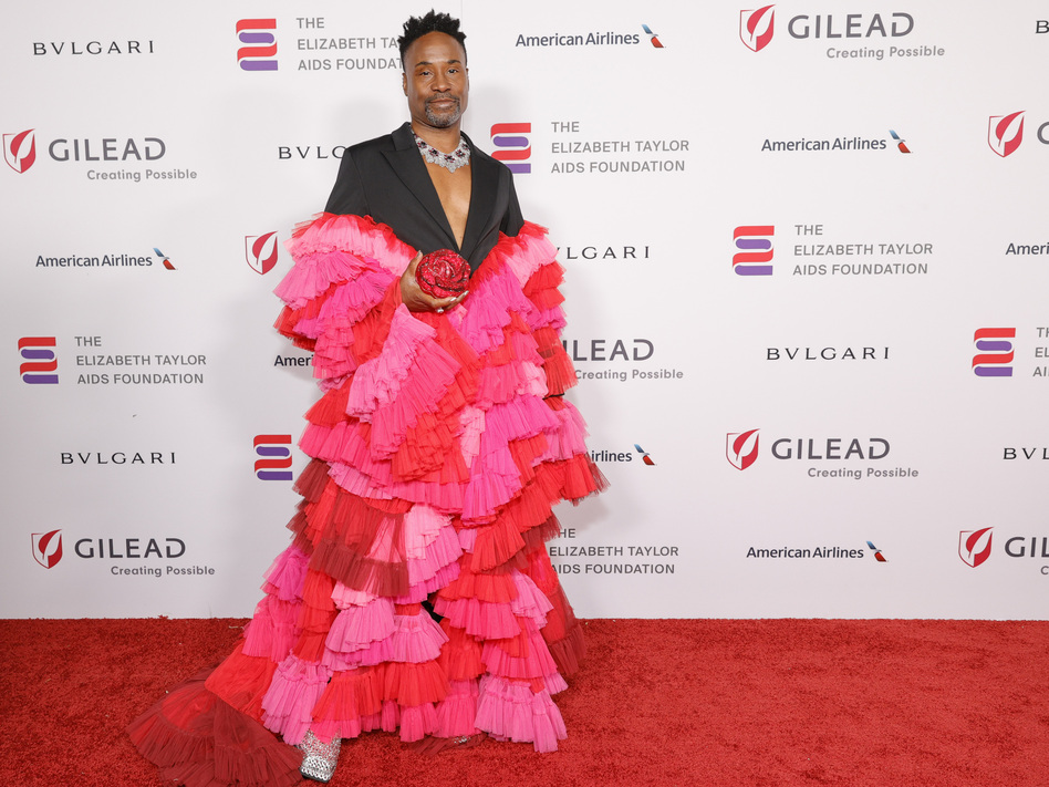 Billy Porter at Elizabeth Taylor Ball to End AIDS in West Hollywood, in September. (Amy Sussman/Getty Images)