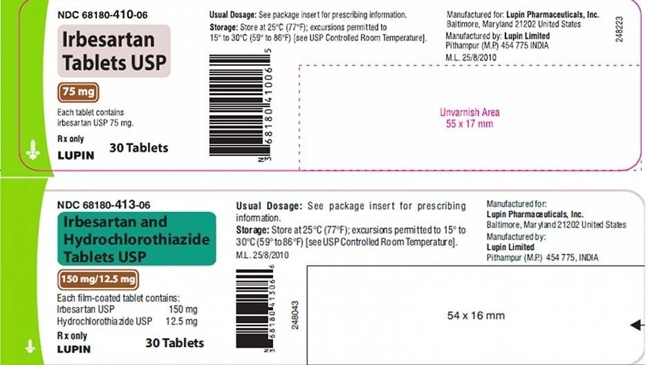 Lupin Pharmaceuticals recalls 2 blood pressure medications - NPR