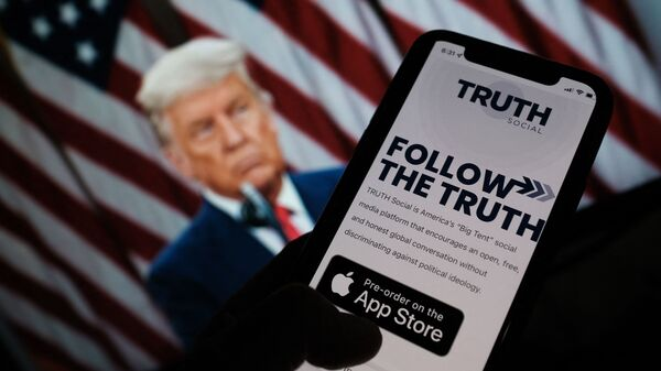 """Former President Donald Trump on Wednesday announced plans  to launch his own social networking platform called TRUTH Social, which is expected to begin its beta launch for """"invited guests"""" next month."""