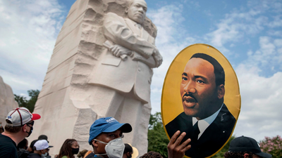 MLK Memorial 10th Anniversary causes visitors to reflect on King's legacy