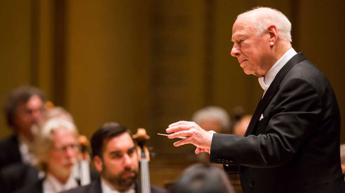 Renowned conductor Bernard Haitink has died at age 92