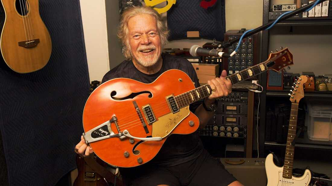 Rocker Randy Bachman's guitar was stolen 45 years ago. A fan tracked it down