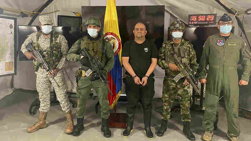 Colombia has captured one of the world's most wanted drug lords, Dairo Antonio Úsuga