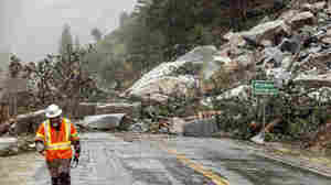 A historic storm brings heavy rain, flooding and mud flows to Northern California