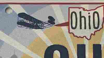 Ohio reverses course after its new license plates showed the Wright Flyer backwards