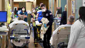 ERs are now swamped with seriously ill patients — but many don't even have COVID
