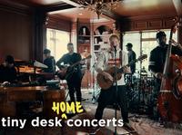 Ed Sheeran performs a Tiny Desk (home) concert.