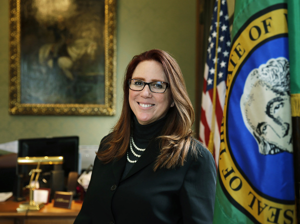 Washington Secretary of State Kim Wyman on Tuesday was named to a top post overseeing election security within the Cybersecurity and Infrastructure Security Agency.