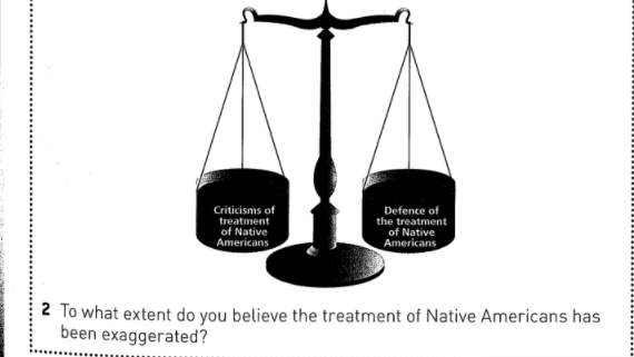 Textbook that asked if treatment of Native Americans was 'exaggerated' is recalled