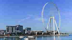 The world's largest Ferris wheel just opened in Dubai