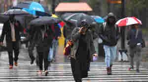 New York and New Jersey declare emergencies as heavy rain soaks the region