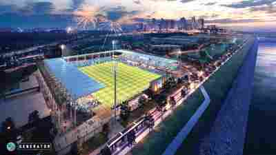 Kansas City team plans to build the first stadium created for women's league soccer