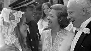 Al and Tipper Gore on their wedding day, May 19, 1970.
