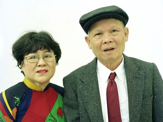 Ba Nguyen (right) and his wife Nho