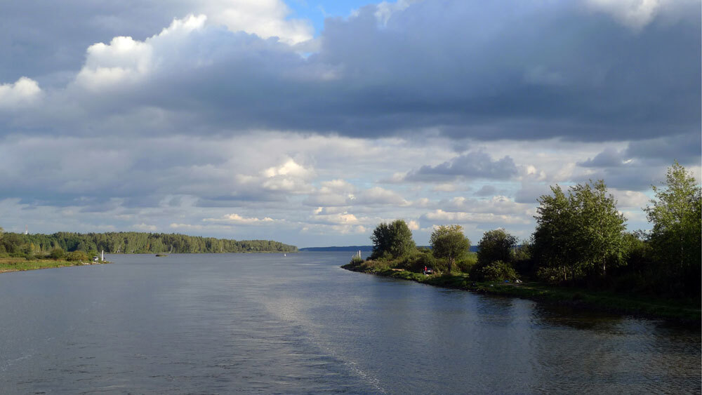 Russias Troubled Waters Flow With The Mighty Volga NPR - The volga river