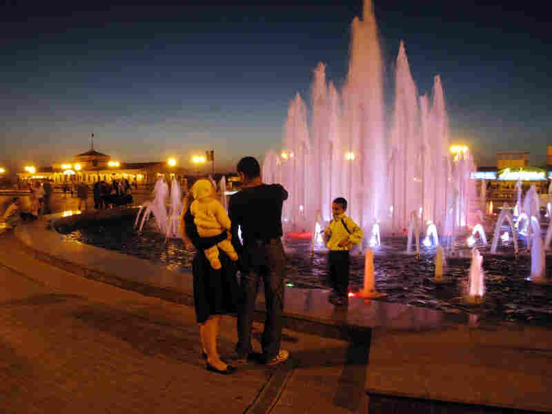 Volgograd promenade