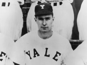 Photo of H.W. as Yale baseball player