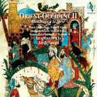 "Cover for Orient-Occident II, ""A Tribute to Syria"""