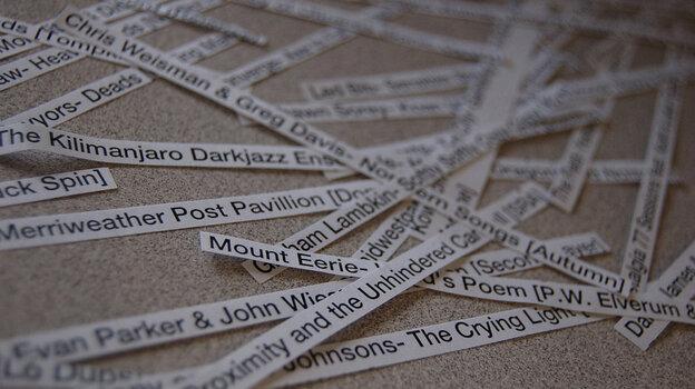 List strips.