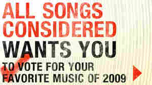 Vote Now For Your Favorite Music Of 2009