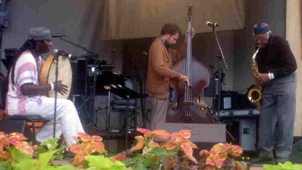 Fred Anderson trio.
