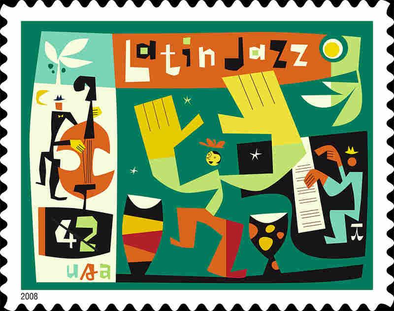 Latin Jazz stamp