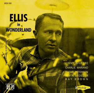 Ellis in Wonderland cover.
