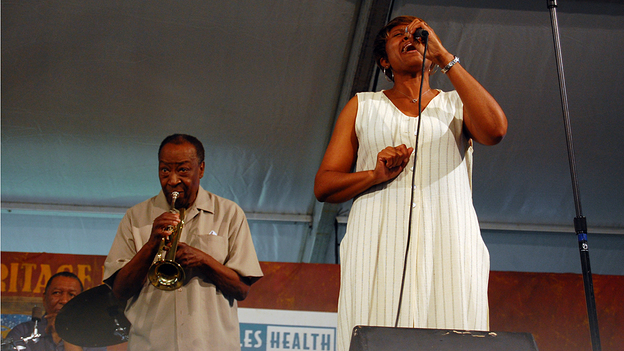 Yoland Windsay and Dave Bartholomew