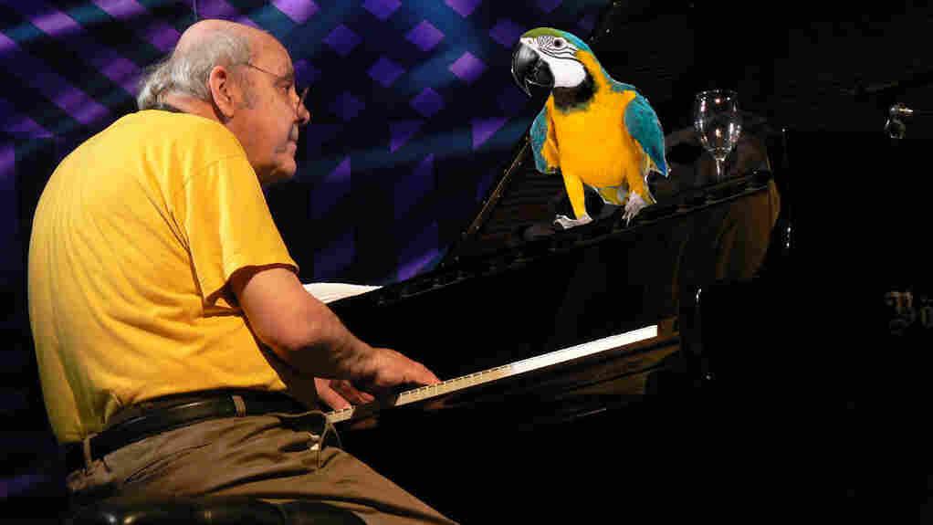 Misha Mengelberg and a parrot, but not his parrot.