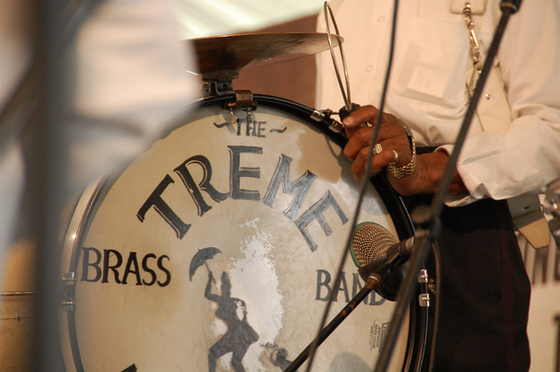 Treme Brass Band drum