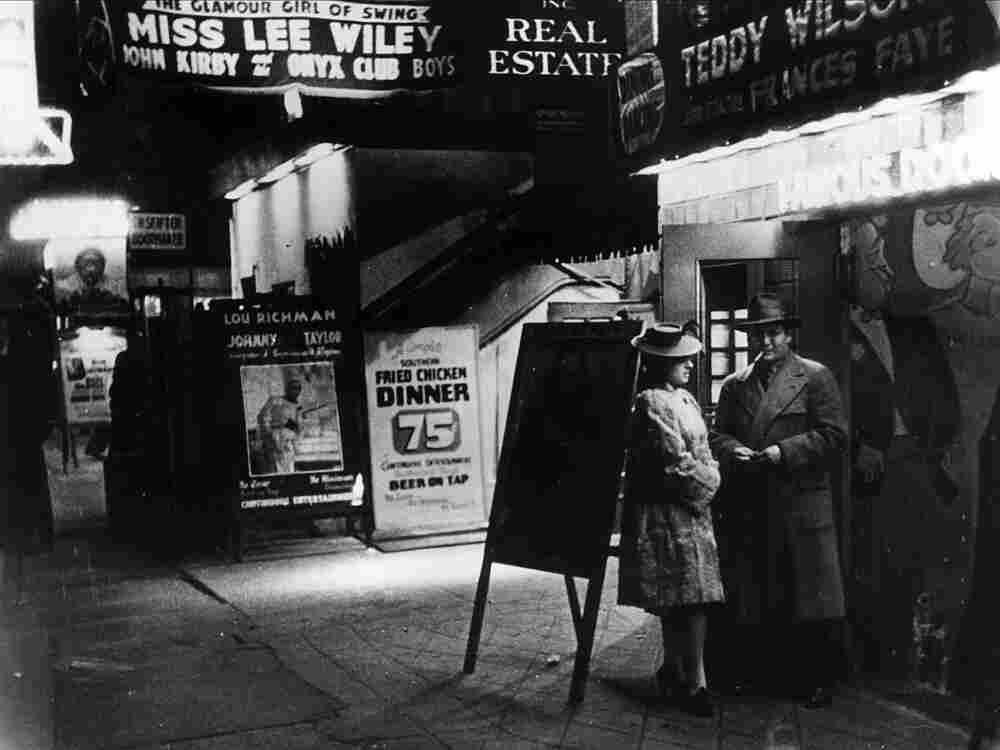 52nd Street in New York, mid-century