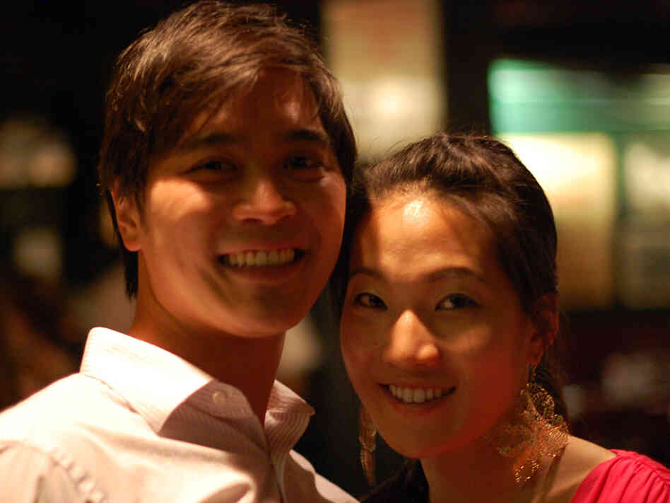 Winston Lin and girlfriend