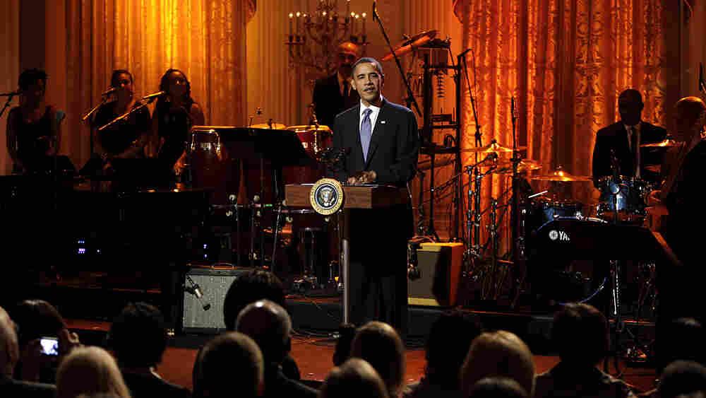 President barack obama for American house music