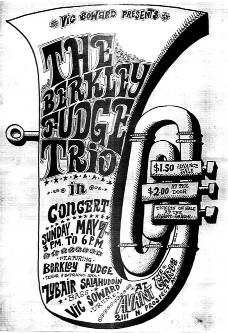 Berkeley Fudge poster