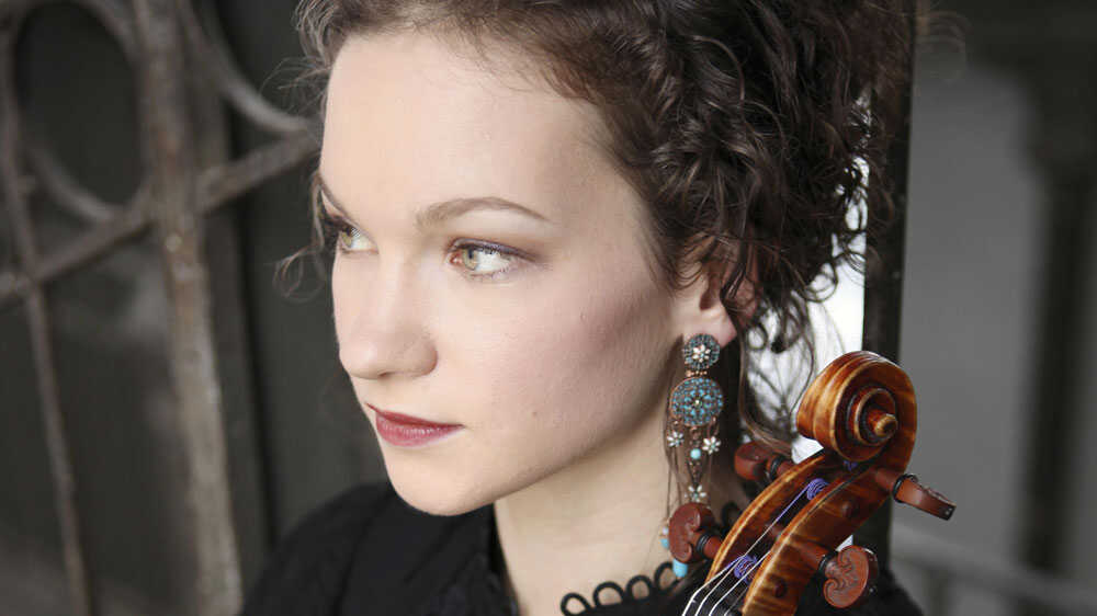 Hilary Hahn Plays Concertos Both Classic And Contemporary