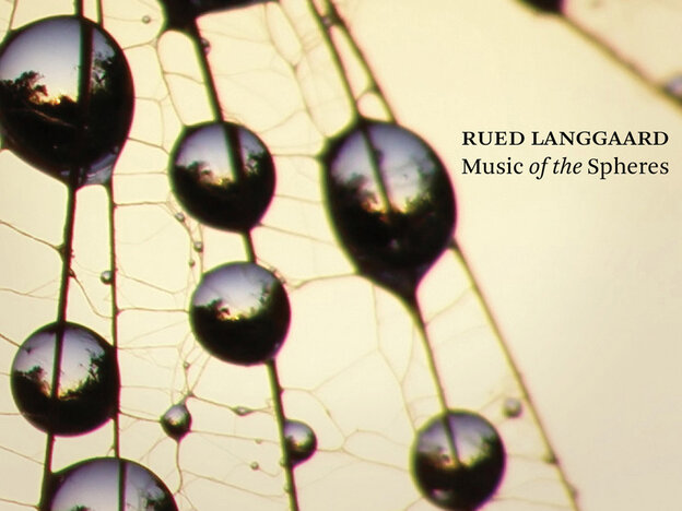 """Cover art for """"Music of the Spheres"""""""